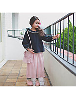 Girl's Casual/Daily Solid PantsPolyester Fall Pink