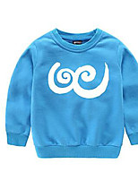 Boy's Casual/Daily Solid Hoodie & SweatshirtCotton Spring / Fall Black / Blue / Pink / White / Yellow