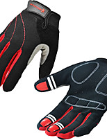 Sports Gloves Bike Full-finger Gloves / Sports Gloves Women's / Men'sAnti-skidding / Keep Warm / Wearproof / Wearable / Breathable /