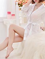 Vrouw Ultrasexy Nachtkleding-Effen Sexy,Gemiddeld Polyester Wit / Roze / Paars / Zwart Vrouwen