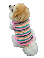 Dog Clothes Cotton Summer Breathable Cozy Pet Clothes for Dogs T-Shirt