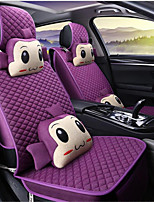 HT Linen Cartoon Monkey Car Seat