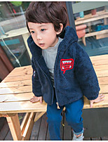 Boy's Casual/Daily Solid Suit & BlazerPolyester Winter / Spring / Fall Blue / Red