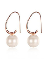 Rose Pearl Earrings 2