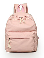 Women Canvas Casual / Outdoor Backpack Pink / Blue / Green / Gray / Black