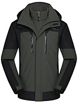 Hiking Softshell Jacket Men's Waterproof / Breathable / Thermal / Warm / Windproof / Wearable TactelOrange /