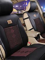 автомобиль подушки китайский узел подушки вентиляции шелк льда кожа решетки алмаза лето автокресло