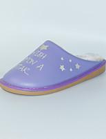 M.livelihood.H  Women's Slippers & Flip-Flops Winter Slingback PU Casual Flat Heel Others Purple Others-TY201607