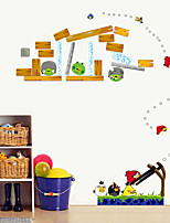 Angry Birds Cartoon Fashion Wall Stickers DIY Removable Children's Bedroom Living Room Wall Decals