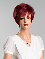 New Arrival Unique Short Straight Capless Wigs Human Hair 8 Inchs