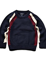 Boy's Casual/Daily Striped Sweater & CardiganCotton Winter / Spring / Fall Blue / Beige