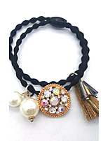 Women Alloy / Gemstone & Crystal / Fabric HeadbandCute / Party / Work / Casual