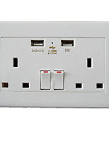 Dual USB Wall Socket