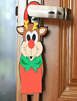 The new Christmas Cartoon Door Hang A EVA Foam Color Ornaments For Christmas Randomly