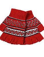 hiver version coréenne de gants tricotés (section des couples femme fait référence à lots mixtes d'un paquet de trois paires)
