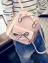 Women PU Casual Backpack Pink / Blue / Gray / Black
