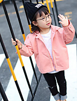 Girl's Casual/Daily Solid Suit & BlazerCotton Spring / Fall Pink