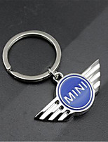 Metal Mini Hollow Car Standard Car Key Ring