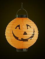 Halloween Pumpkin Lights Paper Lanterns Portable Halloween Supplies Supply Decorations