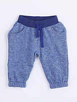 Boy's Casual/Daily Solid PantsCotton Fall Blue