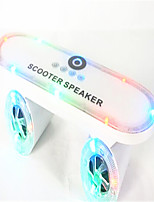 Bluetooth Speakers Scooter LED With Lights Bluetooth Stereo Card Can Be Inserted U Disk Subwoofer
