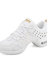 Na míru-Dámské-Taneční boty-Taneční tenisky-Koženka-Kačenka-Černá / Bílá