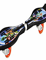 Children's thermal transfer flying plate dynamic board two rounds of flash small snake board JC - 005