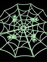 halloween trajes bar construção KTV adereços decorativos 60 cm luminosa aranha movendo web adereços prop assustador