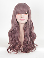 Purple Wigs In Good Quality Heat Resistant Synthetic Wigs Cosplay Women Wigs