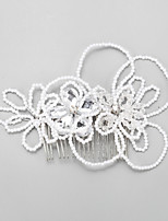 Women's Alloy / Imitation Pearl Headpiece-Wedding / Special Occasion Hair Combs 1 Piece