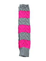 dames bras long gants de doigts (gris clair, plus rose)