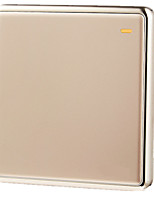 interrupteur mural prise d'un seul panneau Jindian de commutateur de commande série grande carte 86 caché