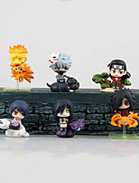 Cosplay Hokage PVC 6cm Anime Action Figures Model Toys Doll Toy Daiyoji Ninkai Taisen