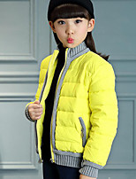 Girl's Casual/Daily Solid Suit & BlazerPolyester Winter Black / Red / Yellow
