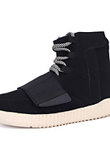 Women's Sneakers Spring Fall Winter Others PU Outdoor Casual Flat Heel Lace-up Black Red White Running Basketball Others