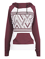 Spring Fall Going out Casual Women's Hoodies Fashion Print Long Sleeve Sweatshirts
