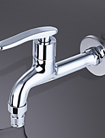 Contemporary Standard Spout Centerset Clawfoot with  Brass Valve Single Handle One Hole for  Chrome  Kitchen faucet. JL-LX02