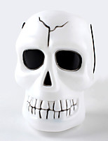1PC Hallowmas   Portable Skeleton Ghost Head  Barrel Decorate  Hallowmas Costume  Party