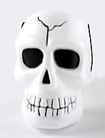 hallowmas 1pc portable fantôme squelette tête baril décorer hallowmas partie de costume
