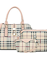 Women Cowhide Formal / Office & Career Bag Sets