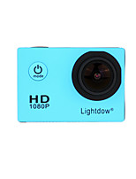 Lightdow LD4000 1080P HD Sports Action Camera Bundle with NT96650 Chip 1.5 LCD 170 Wide Angle Lens and Bonus Battery