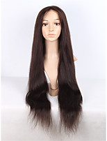 Long Natural Straight Human Hair Wig Full Lace & Lace Front Wig With Baby Hair