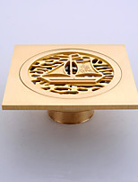 1PC Bathroom Accessory Antique Brass Finish Solid Brass Floor