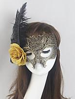 Femme Plume / Polyester Casque-Occasion spéciale Masques 1 Pièce