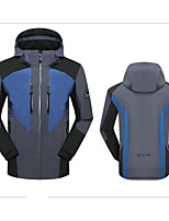 Hiking Softshell Jacket Unisex Waterproof / Thermal / Warm / Windproof / Wearable Winter TactelRed / Gray /