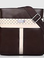Men PU Casual / Office & Career Shoulder Bag Brown / Black