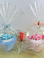 Cotton Practical Favors-1 Bath & Soaps Fairytale Theme Red / White / Yellow 20*20 Ribbons