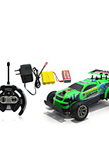 Car Racing 566-110 110 Brush Electric RC Car / 2.4G Orange Ready-To-Go Remote Control Car
