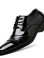 Men's Oxfords Spring / Summer / Fall / Winter Comfort  Casual Flat Heel Lace-up Black Others