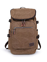 Men Canvas Casual / Outdoor Backpack Brown / Black